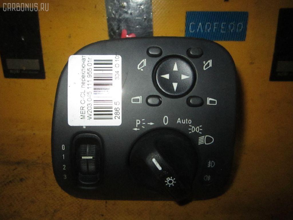 Переключатель света фар MERCEDES-BENZ C-CLASS W203.045 Фото 1