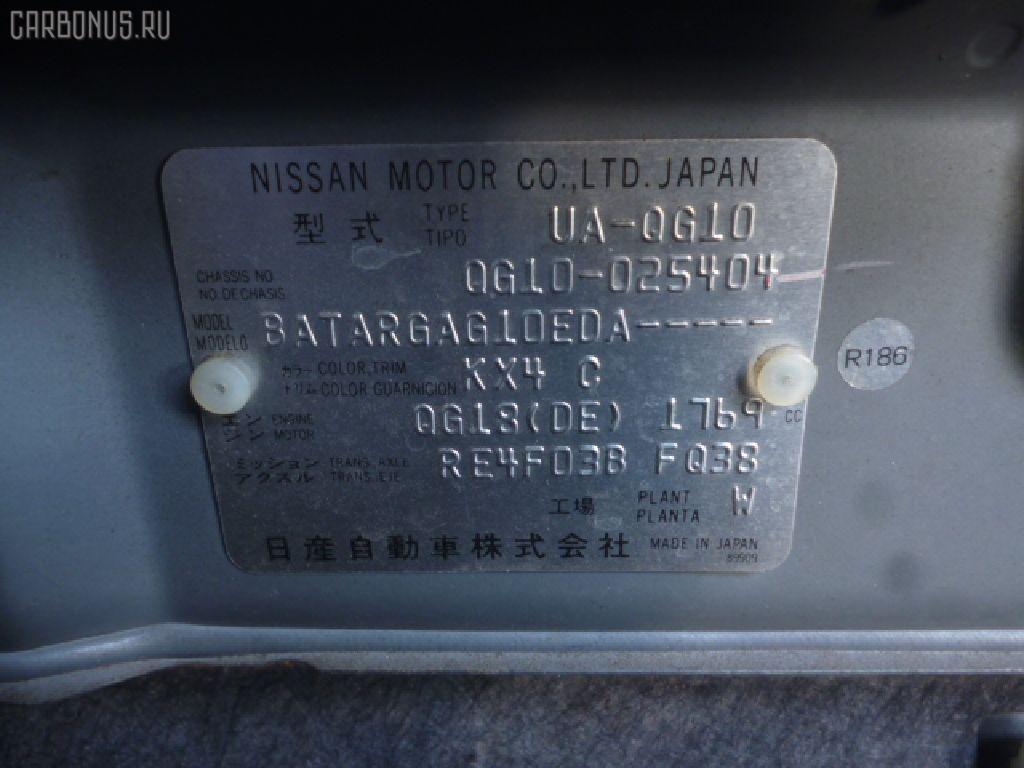 Крепление подушки ДВС NISSAN BLUEBIRD SYLPHY QG10 QG18DE Фото 3
