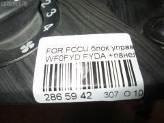 Блок управления климатконтроля Ford Focus WF0FYD FYDA Фото 3