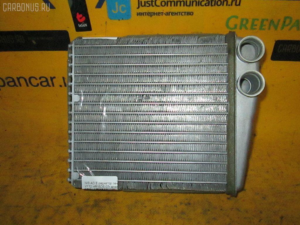 Радиатор печки NISSAN AD EXPERT VY12 HR15DE. Фото 2