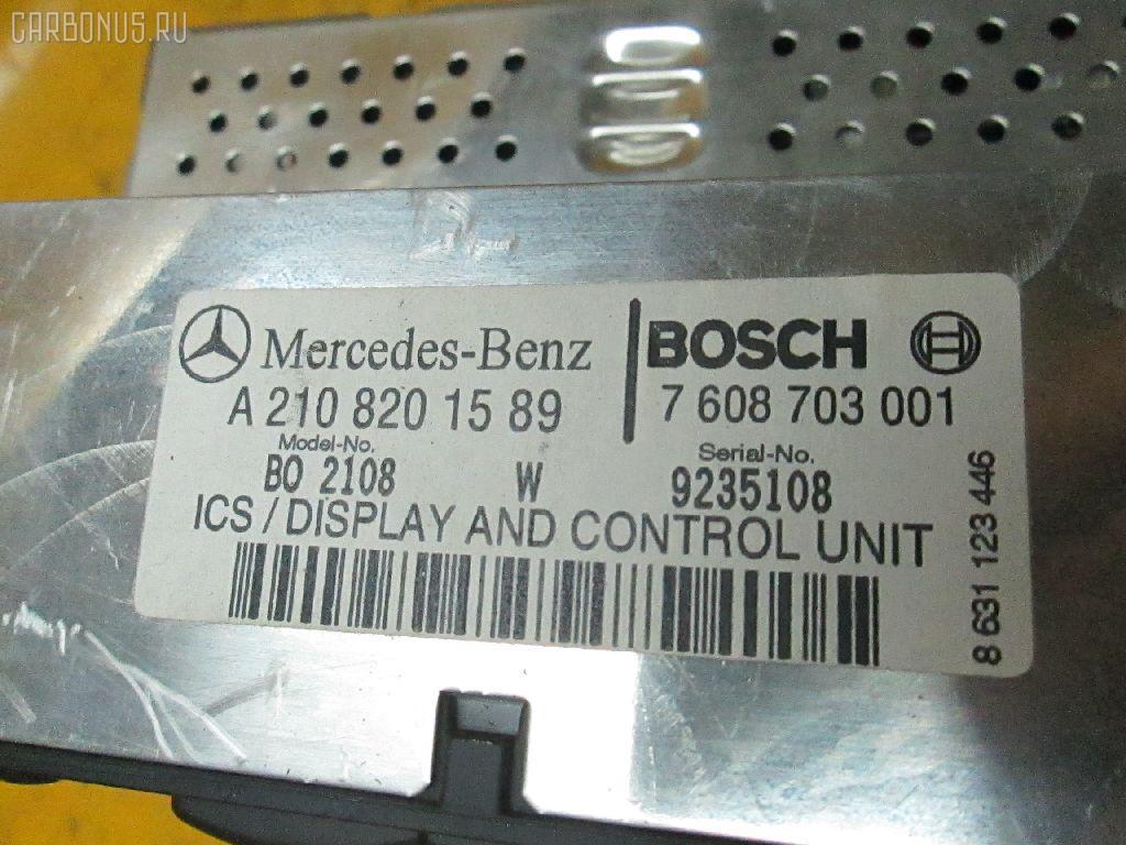 Автомагнитофон MERCEDES-BENZ E-CLASS W210.061 Фото 3