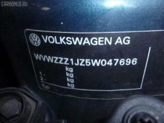 Патрубок радиатора ДВС VOLKSWAGEN BORA 1JAQN AQN Фото 2