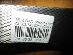 Консоль КПП Mercedes-benz C-class sports coupe CL203.745 Фото 9