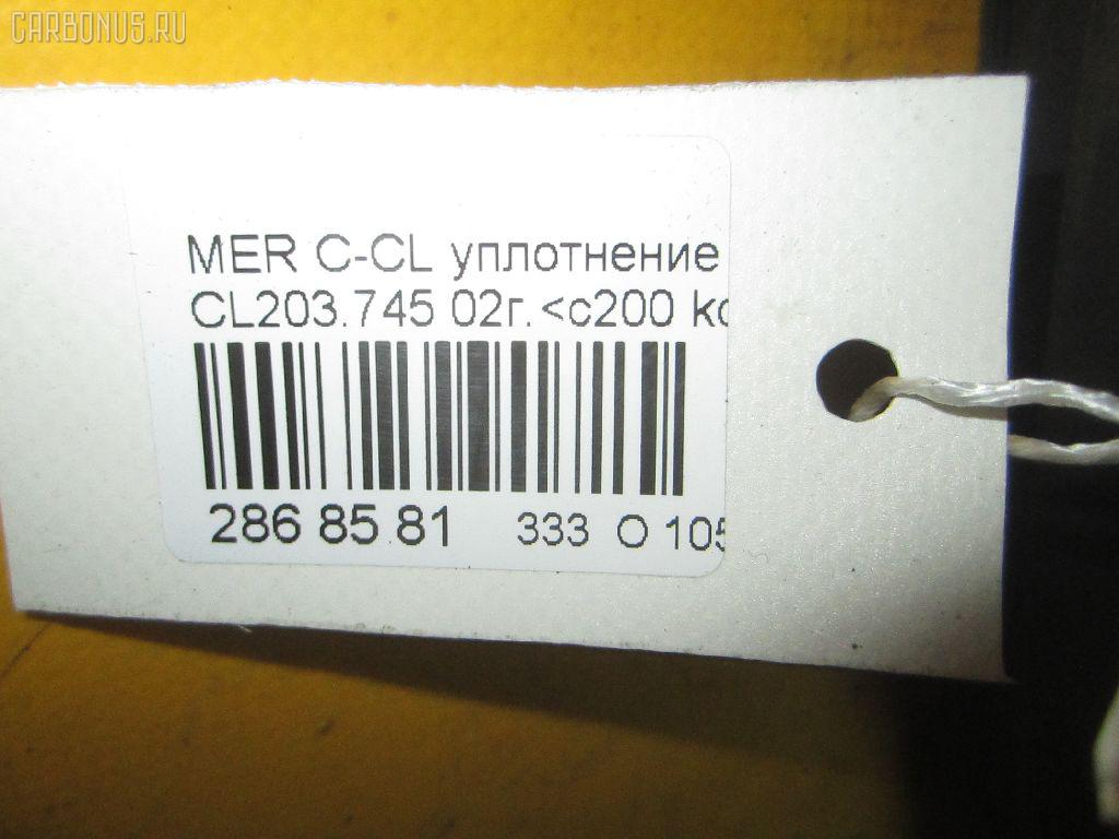 Уплотнение двери MERCEDES-BENZ C-CLASS SPORTS COUPE CL203.745 Фото 8