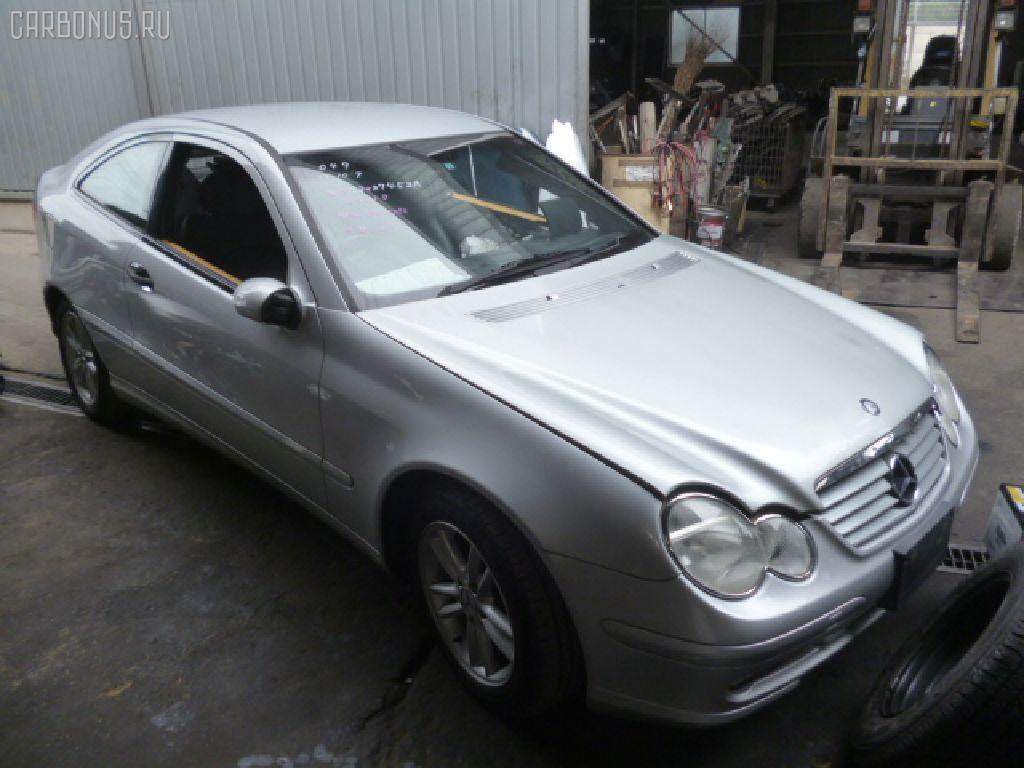 Патрубок интеркуллера MERCEDES-BENZ C-CLASS SPORTS COUPE CL203.745 111.955 Фото 4
