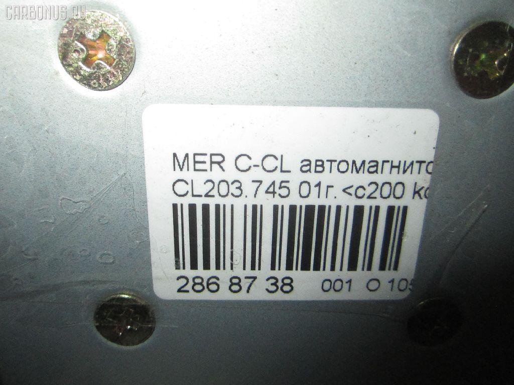 Автомагнитофон MERCEDES-BENZ C-CLASS SPORTS COUPE CL203.745 Фото 9