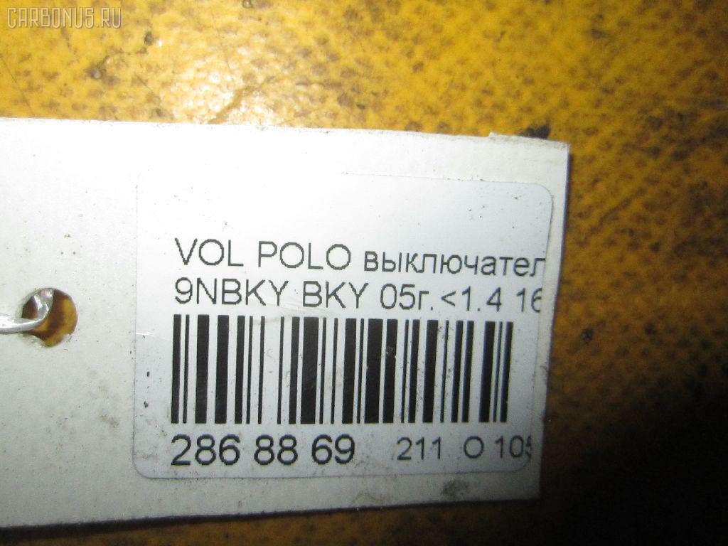 Датчик включения стоп-сигнала VOLKSWAGEN POLO 9NBKY BKY Фото 9