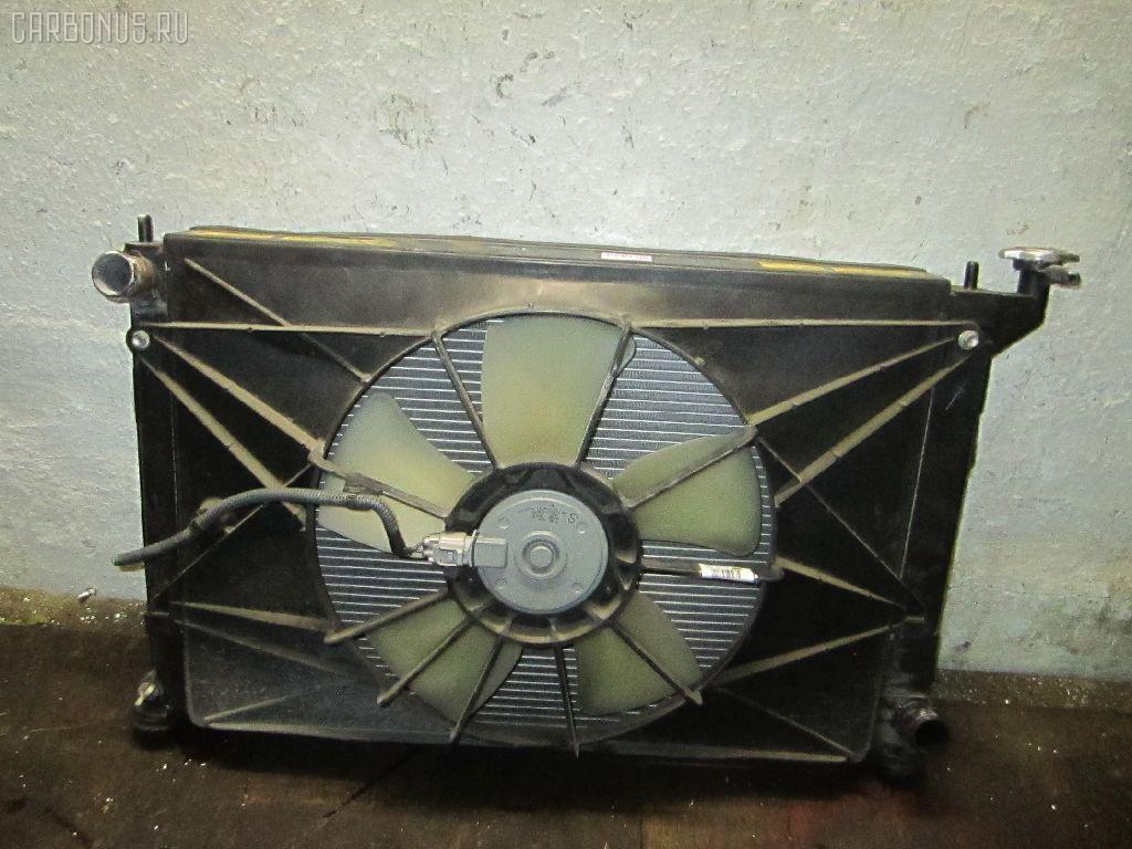 Радиатор ДВС TOYOTA WISH ZNE10G 1ZZ-FE. Фото 7