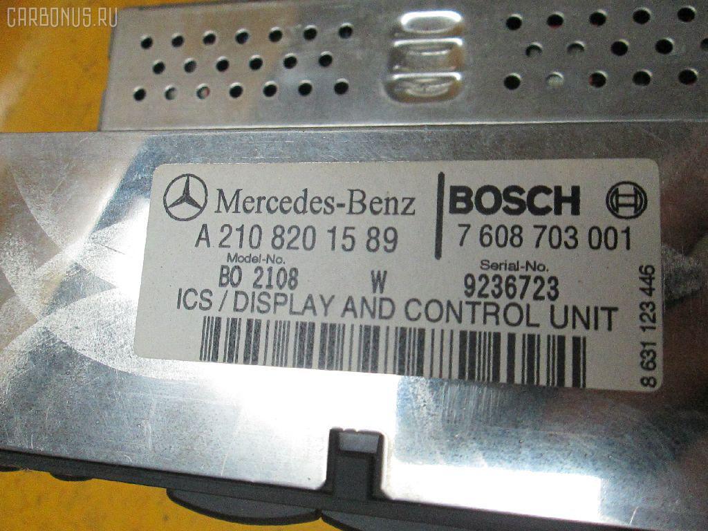 Автомагнитофон MERCEDES-BENZ E-CLASS W210.065 Фото 3