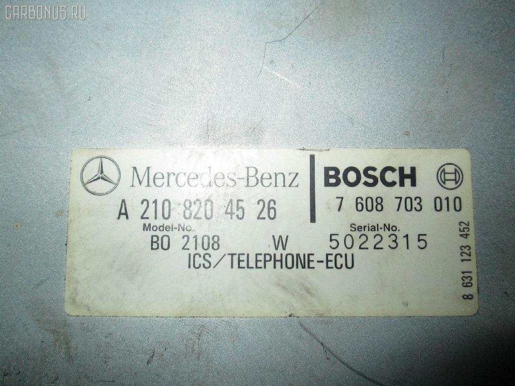 Блок упр-я MERCEDES-BENZ E-CLASS W210.065 Фото 3