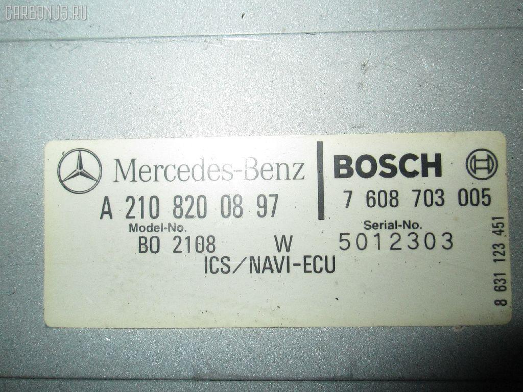 Блок упр-я MERCEDES-BENZ E-CLASS W210.065 Фото 1