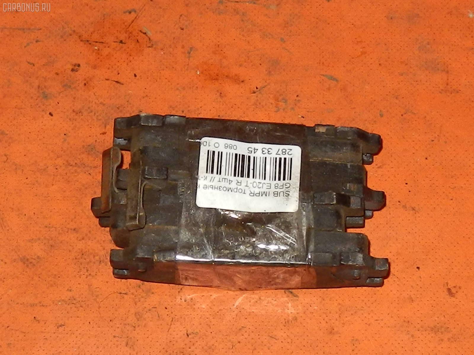 Тормозные колодки SUBARU IMPREZA WAGON GF8 EJ20-T Фото 2
