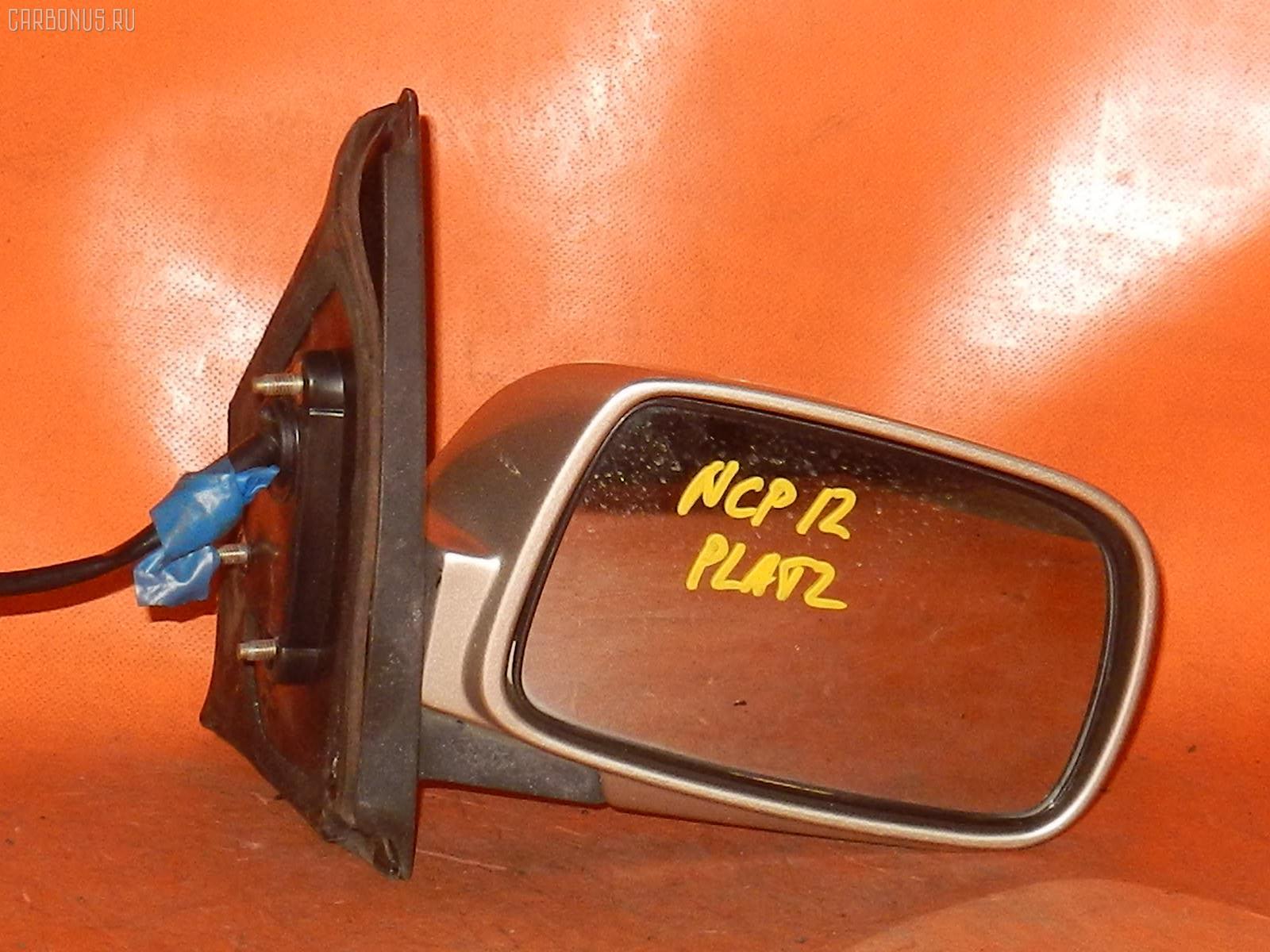 Зеркало двери боковой TOYOTA PLATZ NCP12. Фото 9