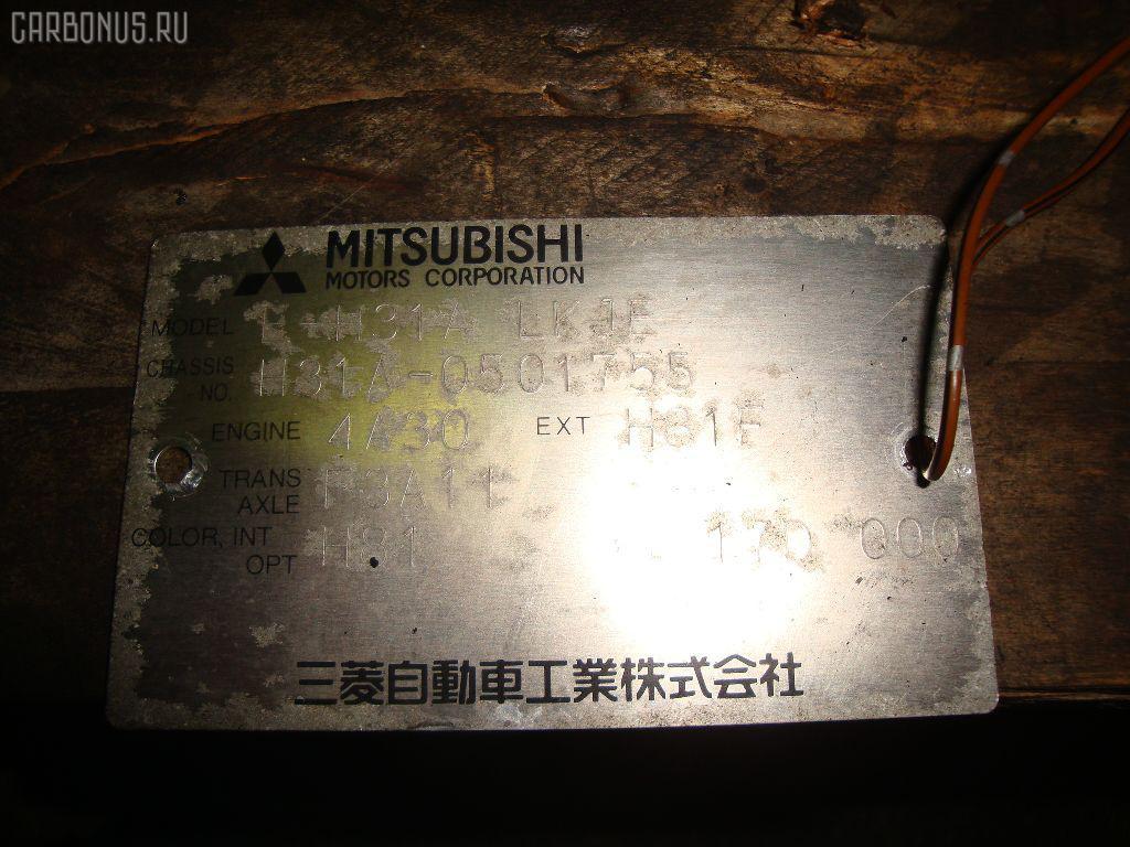 Двигатель MITSUBISHI MINICA H31A 4A30 Фото 9