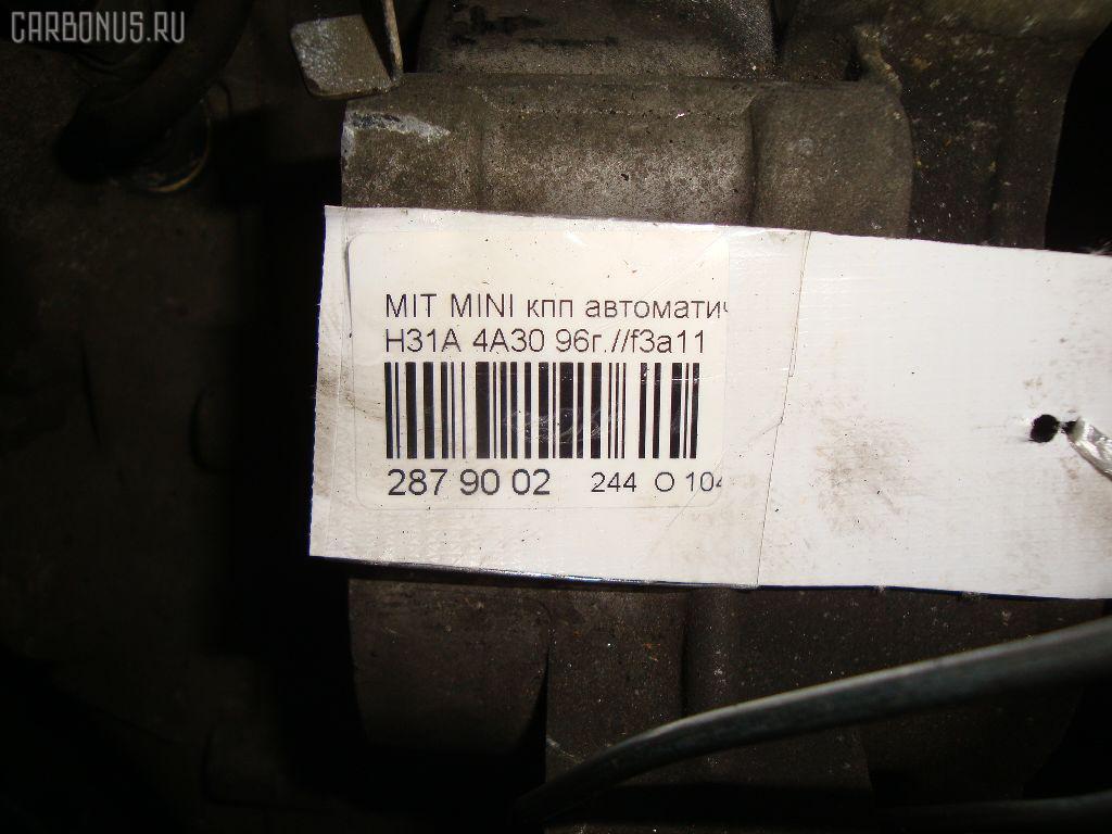 КПП автоматическая MITSUBISHI MINICA H31A 4A30 Фото 7