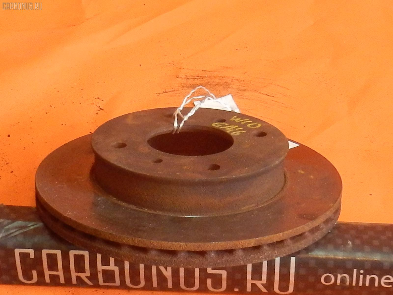 Тормозной диск NISSAN AVENIR VEW10 GA16DS Фото 1