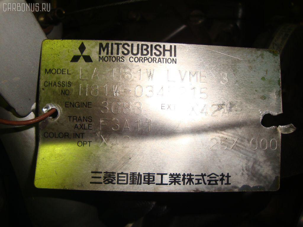 КПП автоматическая MITSUBISHI EK WAGON H81W 3G83. Фото 7