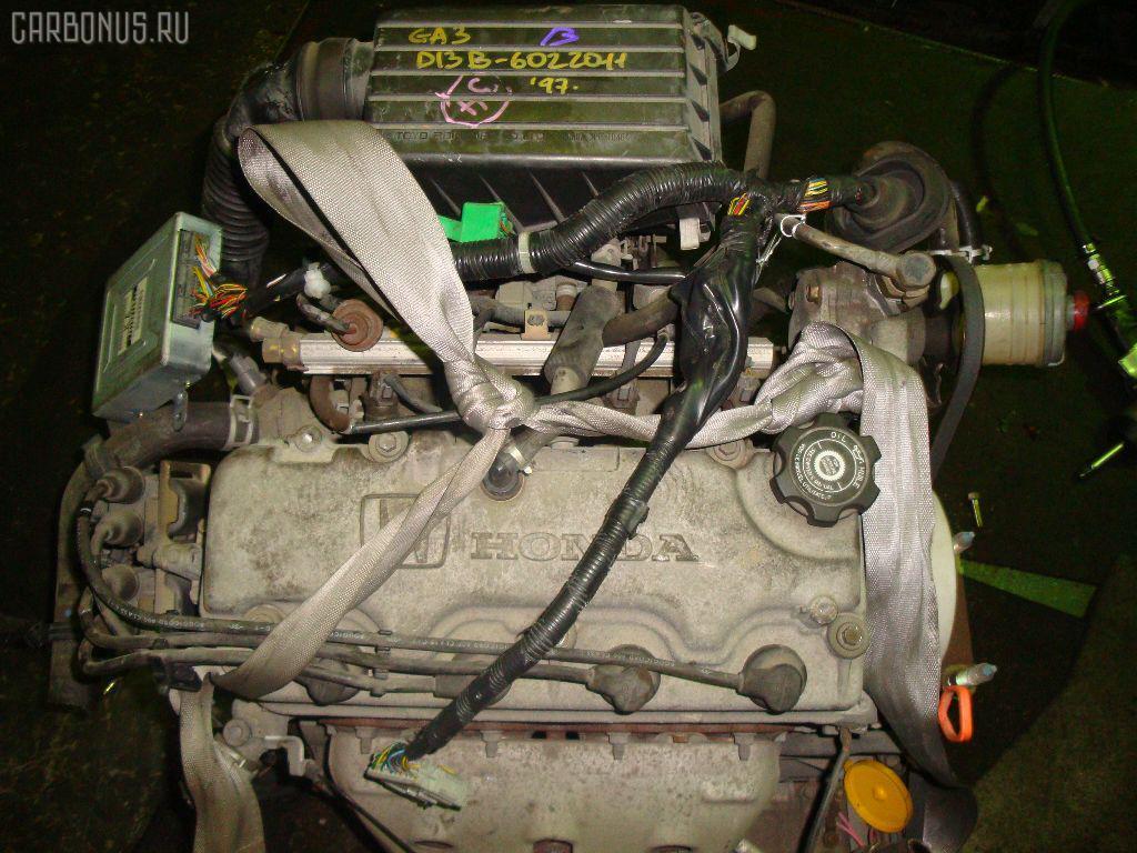 Двигатель HONDA LOGO GA3 D13B. Фото 6