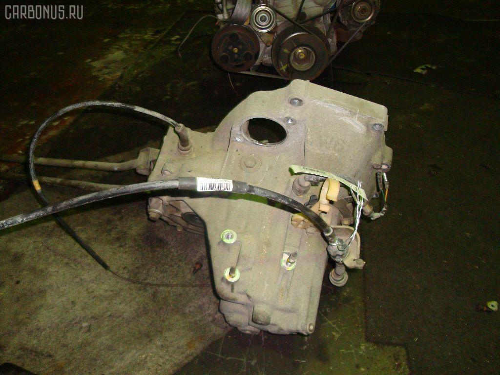 КПП механическая HONDA LOGO GA3 D13B. Фото 3