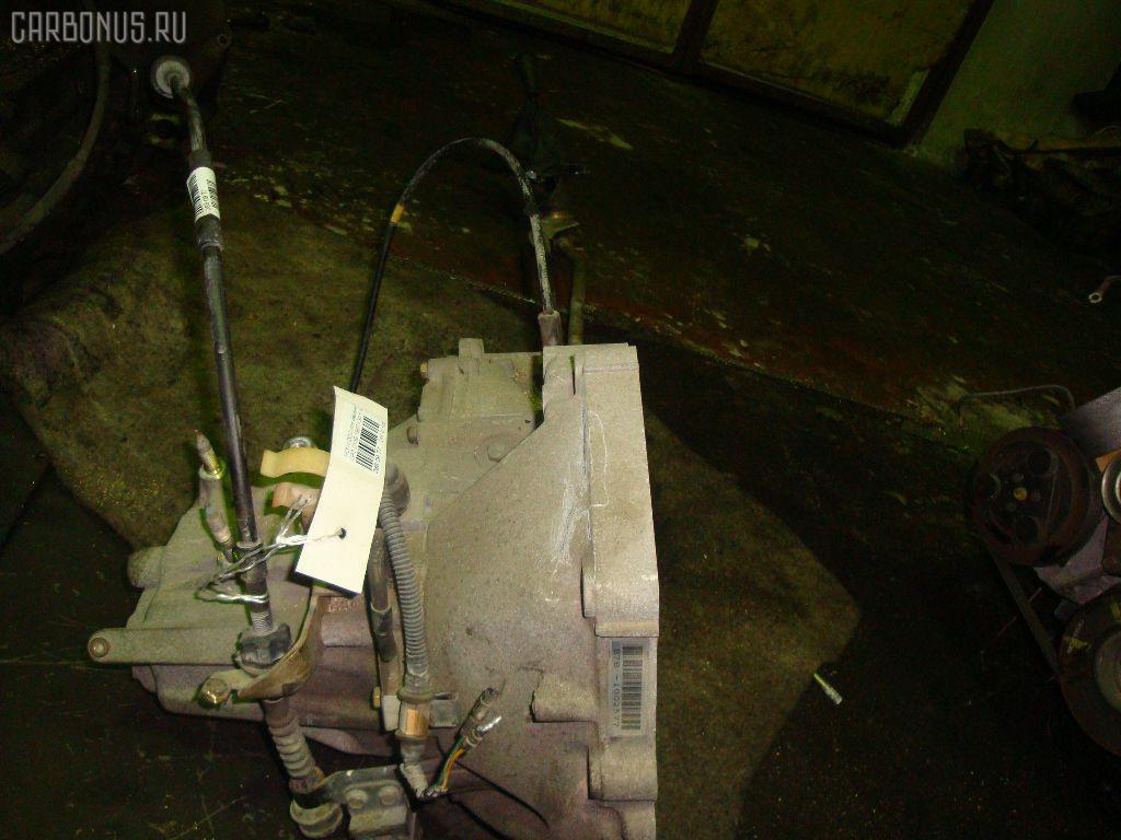 КПП механическая HONDA LOGO GA3 D13B. Фото 4