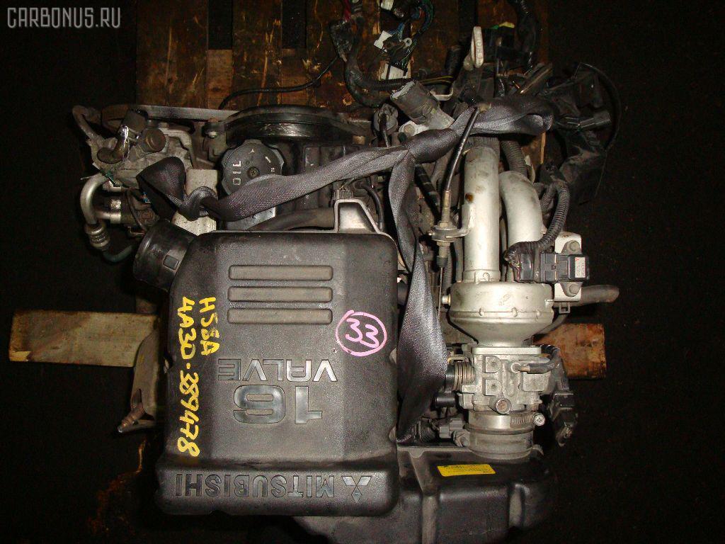 Двигатель MITSUBISHI PAJERO MINI H58A 4A30 Фото 7