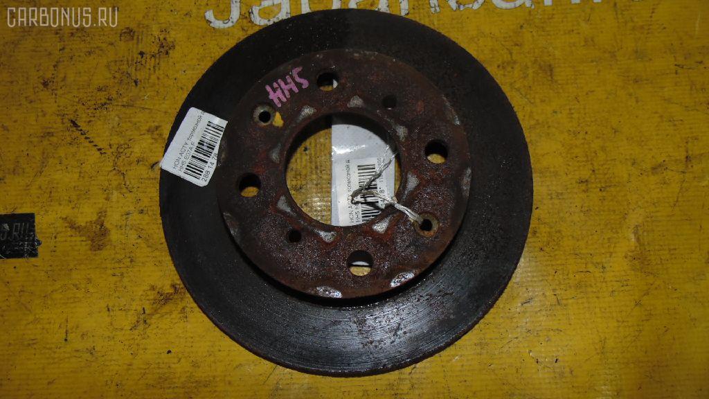 Тормозной диск Honda Acty HH5 E07A Фото 1