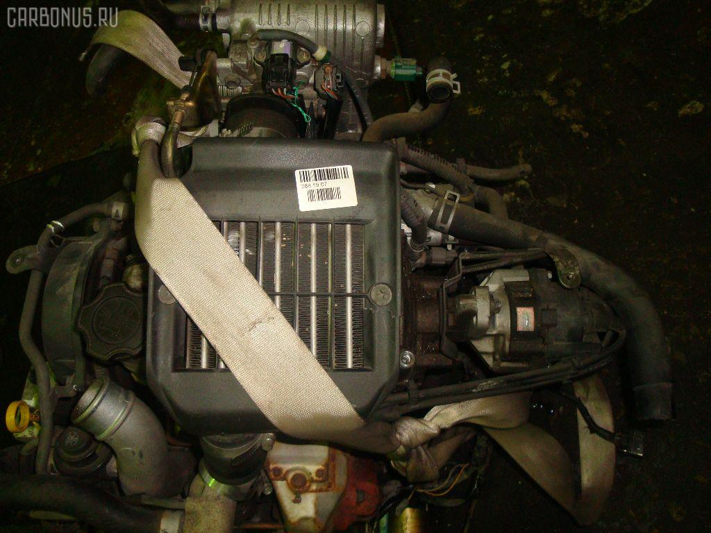 Двигатель SUZUKI WAGON R MC11S F6A-T. Фото 2