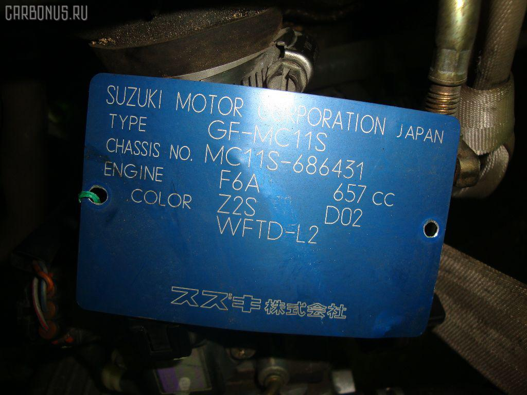 Двигатель SUZUKI WAGON R MC11S F6A-T. Фото 3