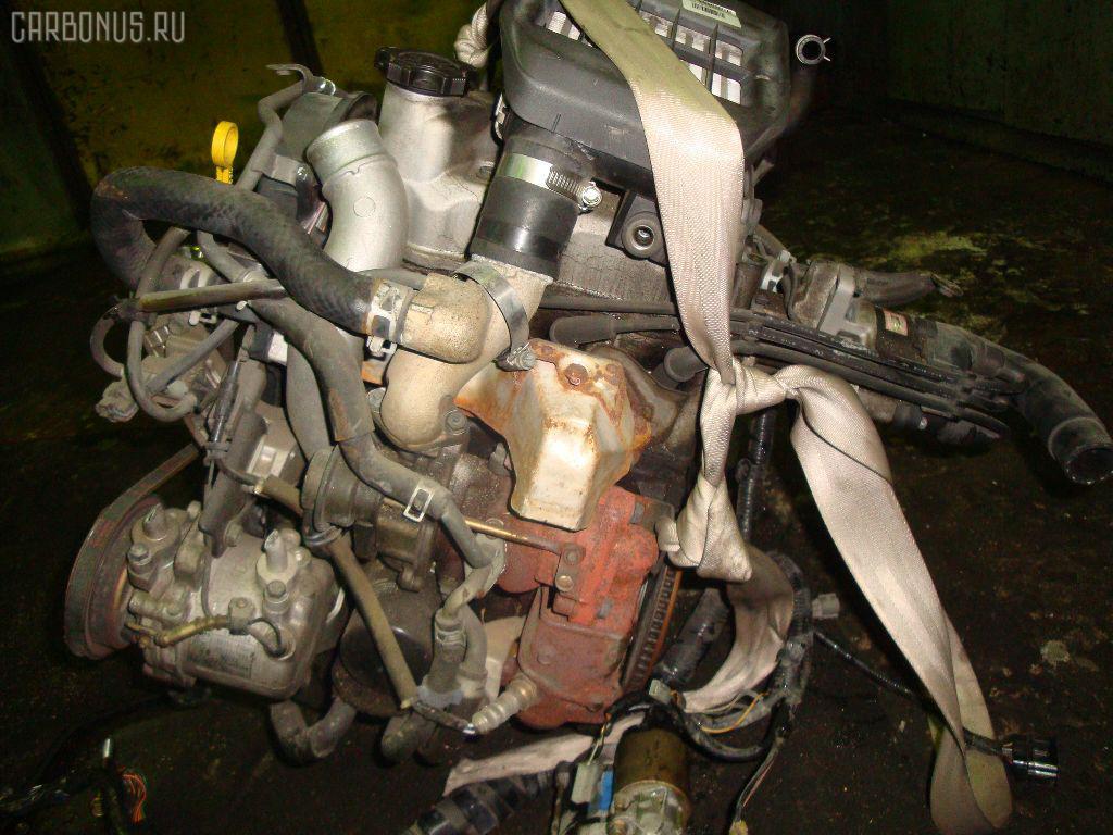 Двигатель SUZUKI WAGON R MC11S F6A-T. Фото 4