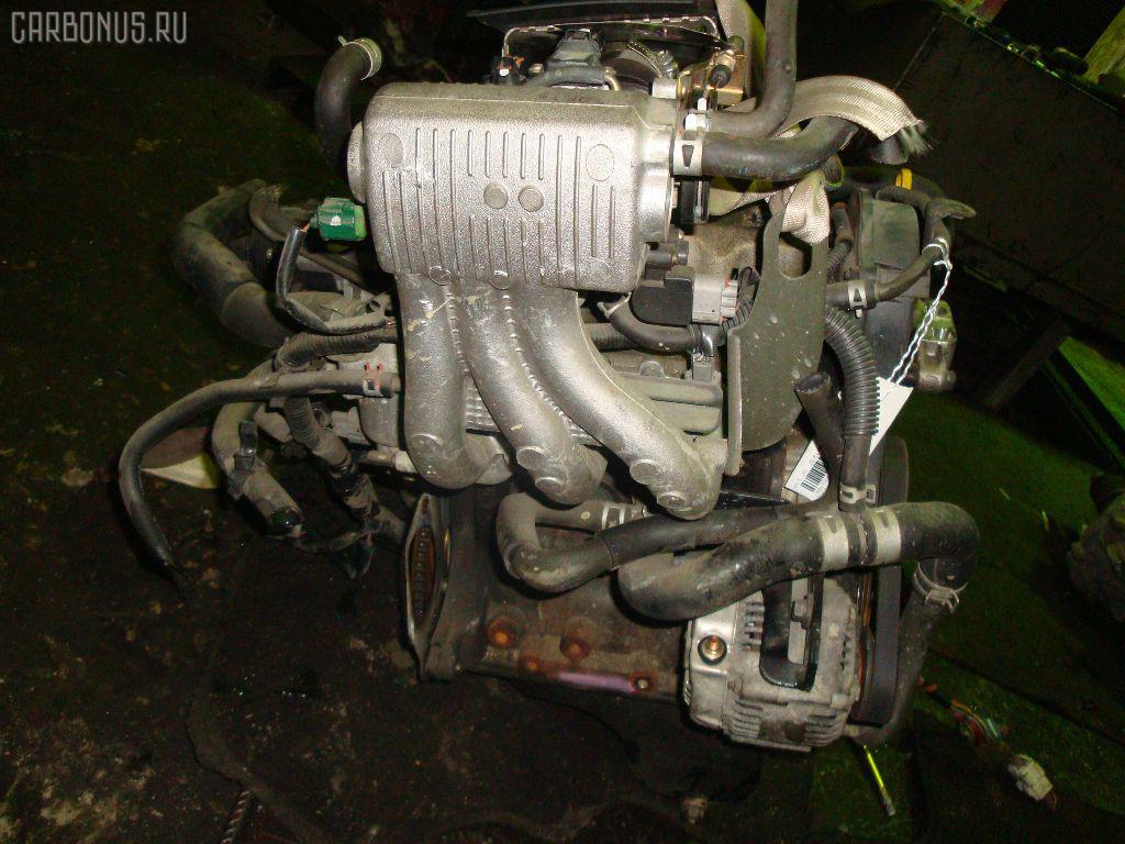 Двигатель SUZUKI WAGON R MC11S F6A-T. Фото 7