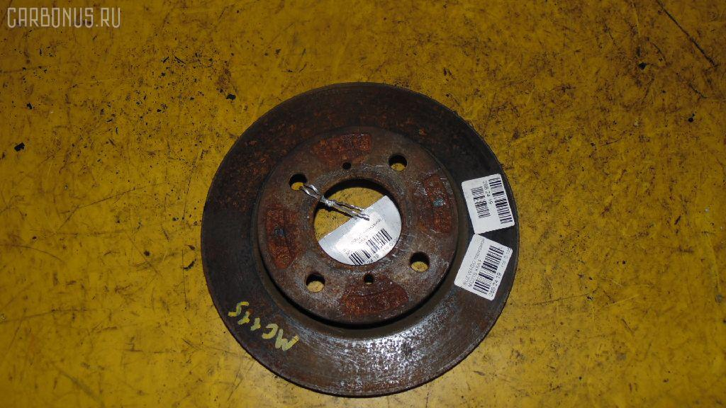 Тормозной диск Suzuki Wagon r MC21S K6A Фото 1