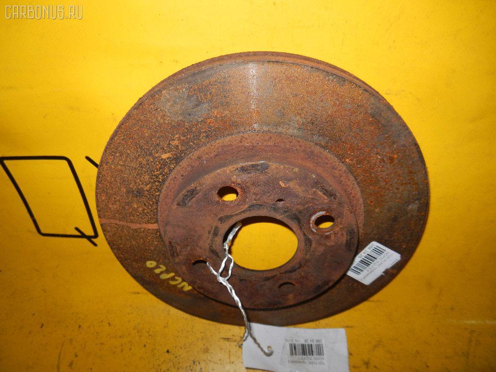 Тормозной диск TOYOTA IST NCP61. Фото 5