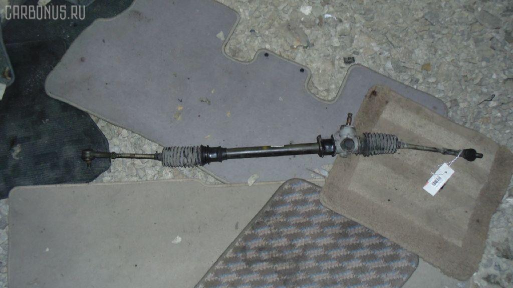 Рулевая рейка SUZUKI WAGON R MC21S K6A. Фото 5