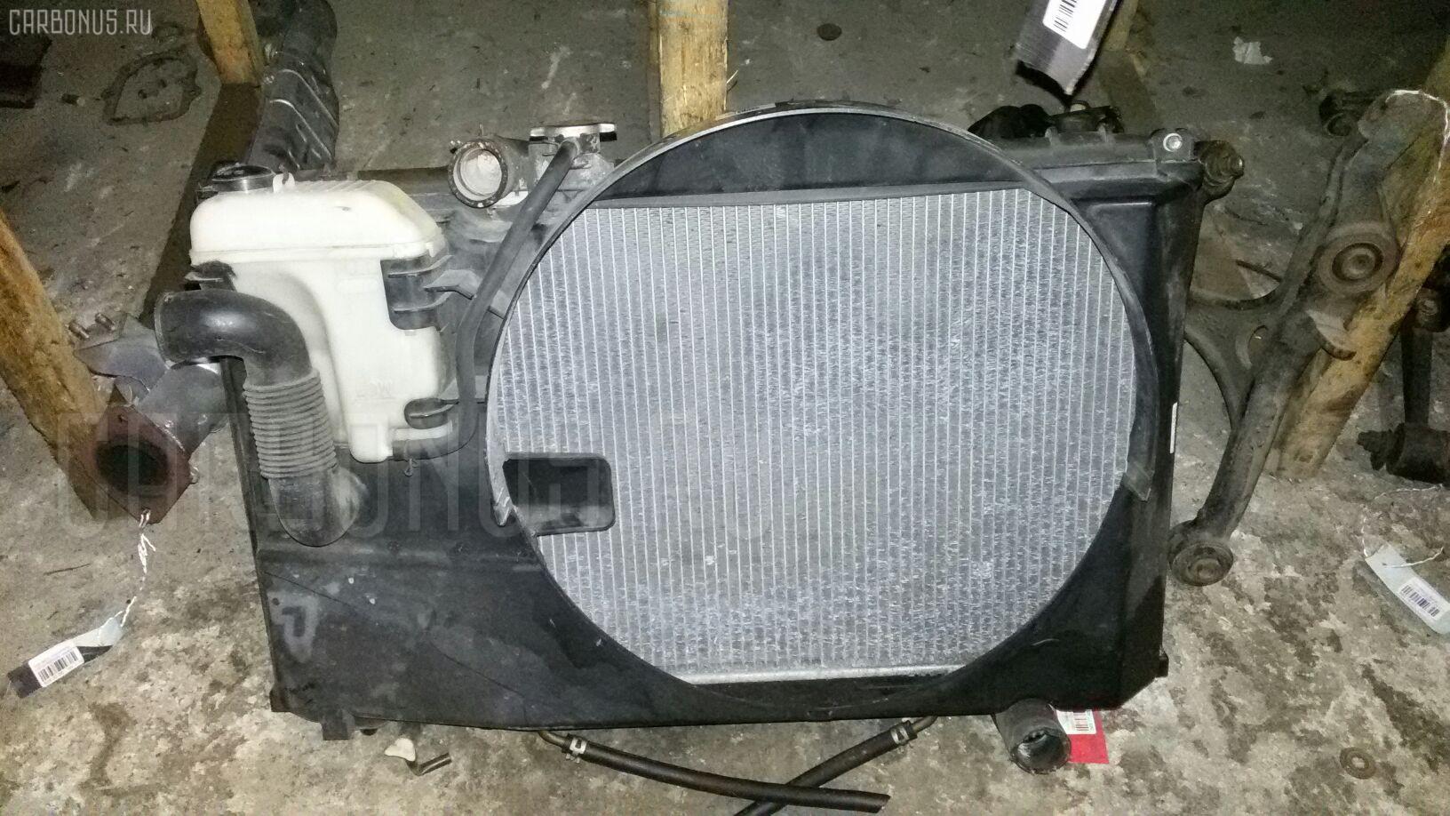 Радиатор ДВС TOYOTA MARK II GX110 1G-FE Фото 2