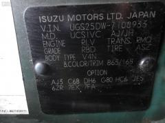 Подкрылок Isuzu Vehicross UGS25DW 6VD1 Фото 4