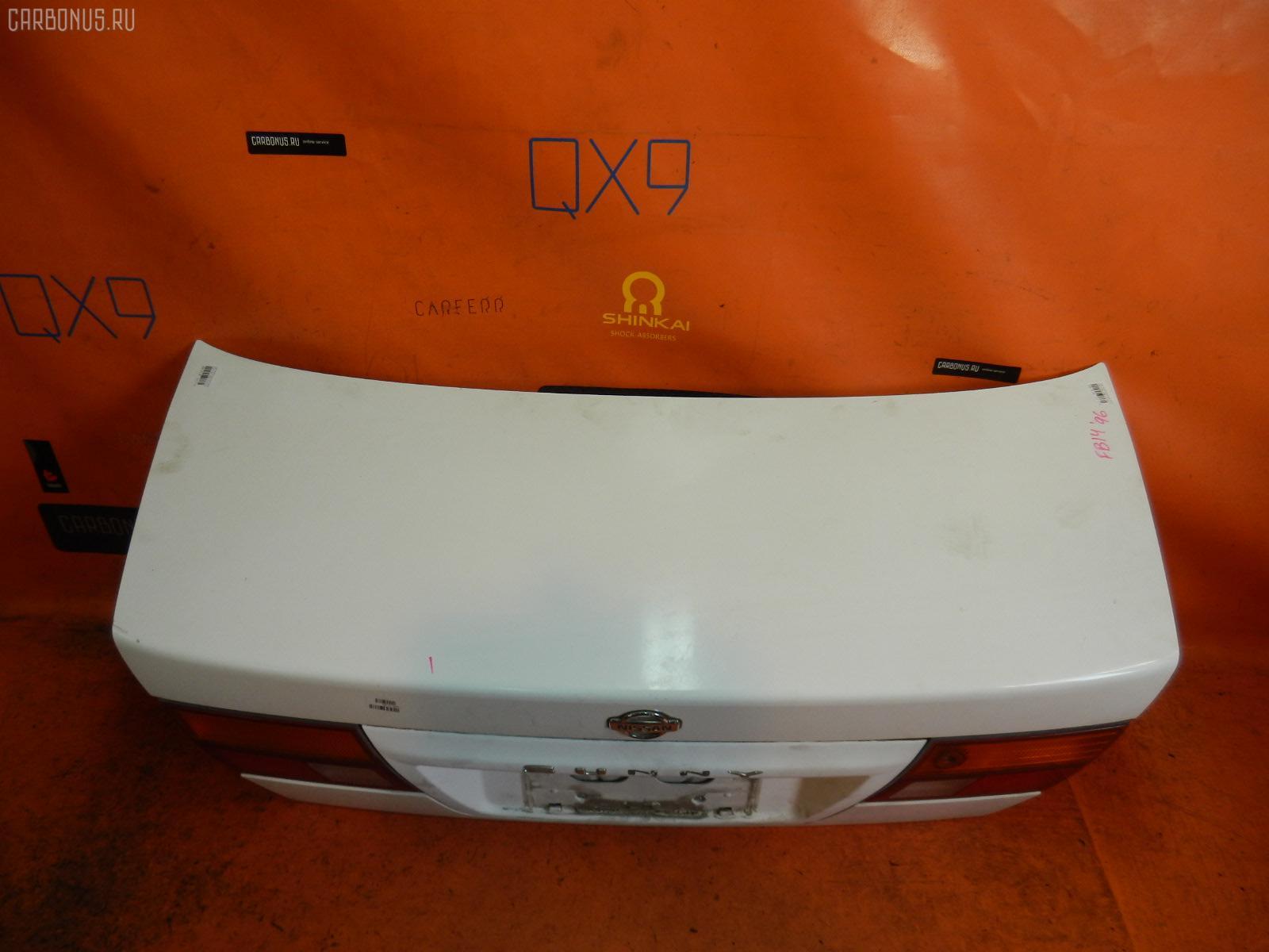 Крышка багажника NISSAN SUNNY FB14. Фото 6