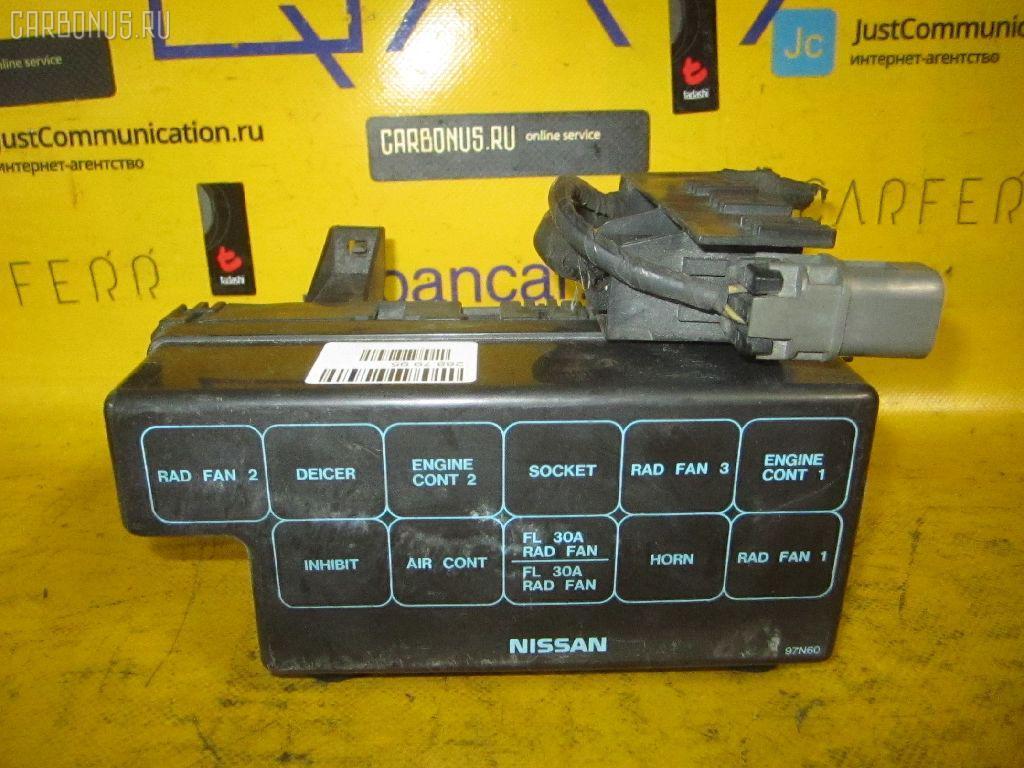Блок предохранителей NISSAN AVENIR VEW10 GA16DS. Фото 2