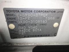 Зеркало двери боковой Toyota Chaser GX90 Фото 8