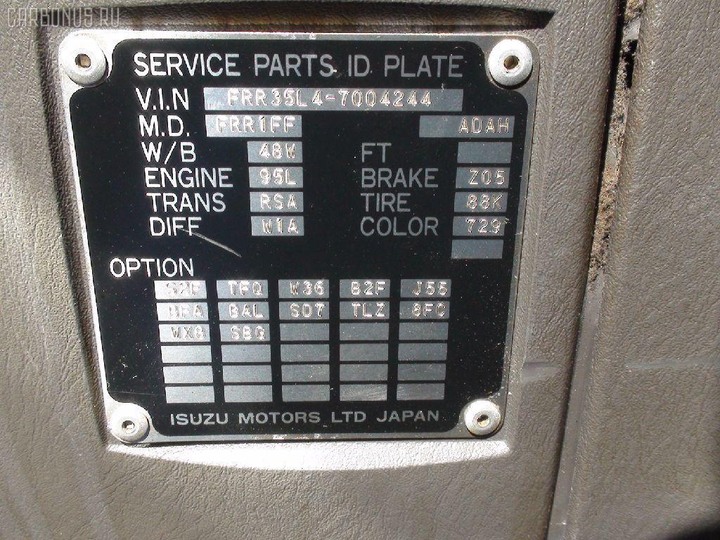 Тросик на коробку передач ISUZU FORWARD FRR35L4 6HL1 Фото 6