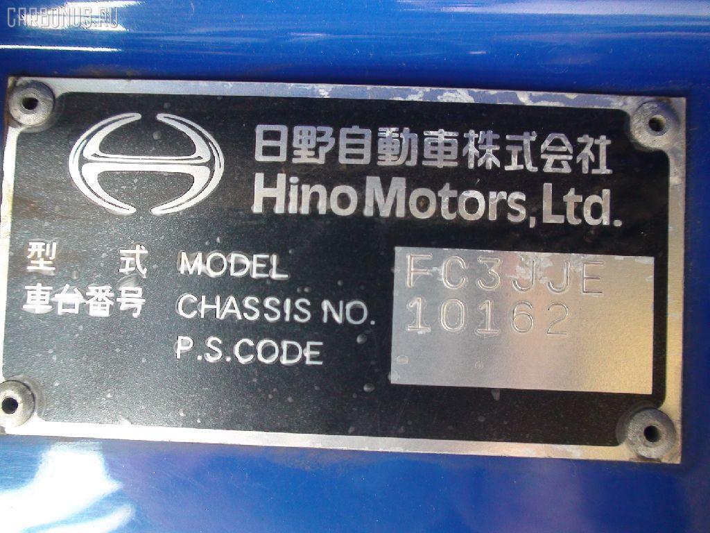Защита двигателя HINO RANGER FC3JJE J07C Фото 5