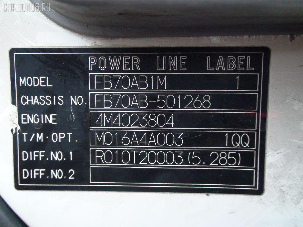Патрубок радиатора печки MITSUBISHI CANTER FB70AB 4M40 Фото 6