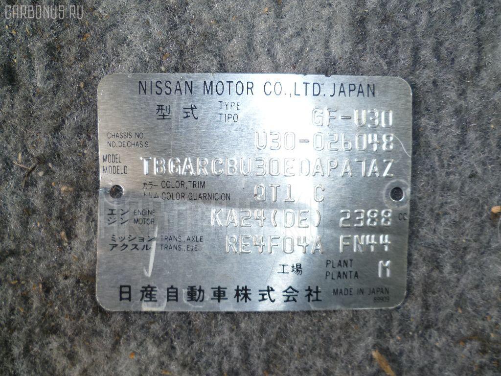 Двигатель NISSAN PRESAGE U30 KA24DE. Фото 3