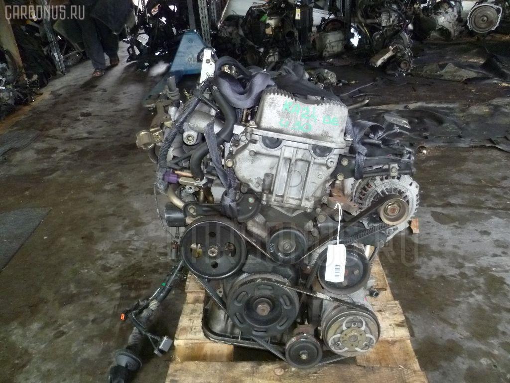 Двигатель NISSAN PRESAGE U30 KA24DE. Фото 4