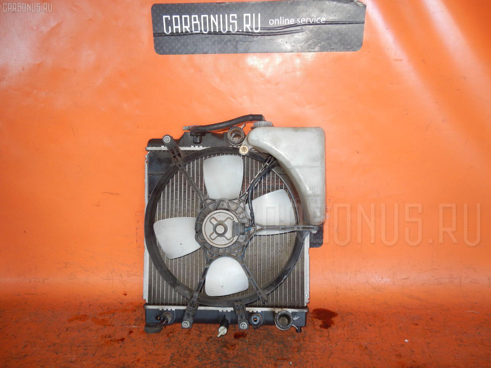 Радиатор ДВС HONDA HR-V GH4 D16A. Фото 1