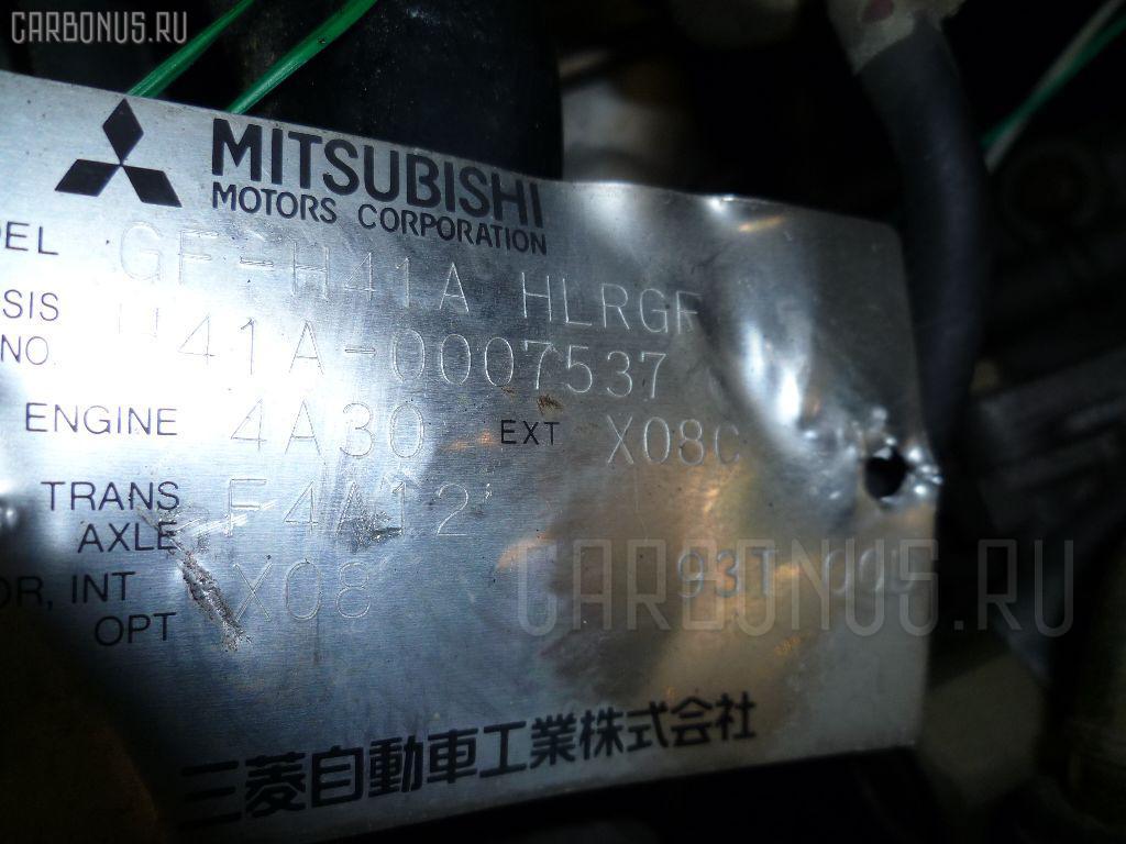 Двигатель MITSUBISHI TOPPO BJ H41A 4A30T. Фото 1