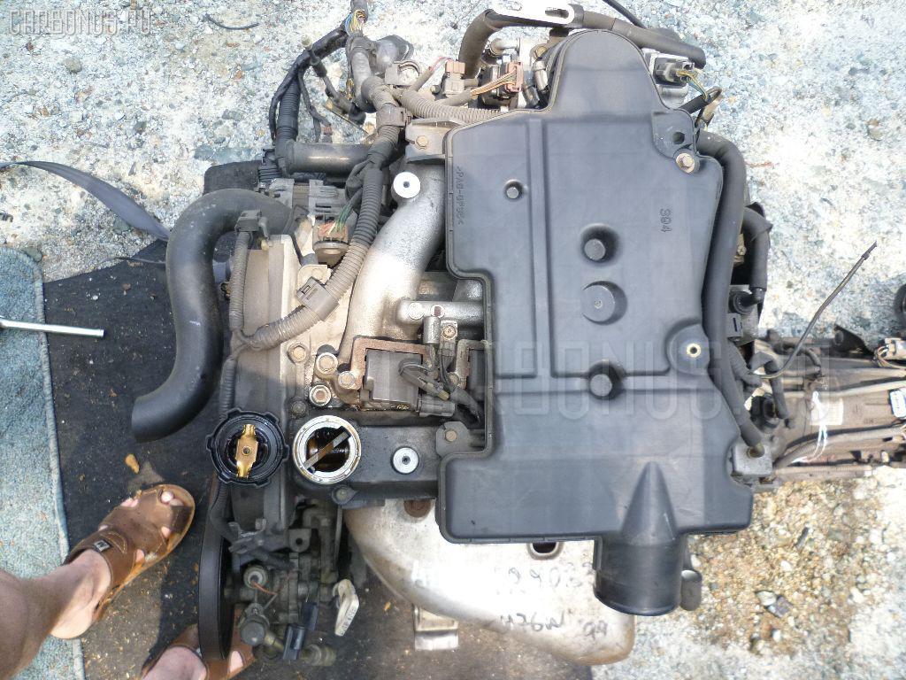 Двигатель MITSUBISHI PAJERO IO H76W 4G93. Фото 8