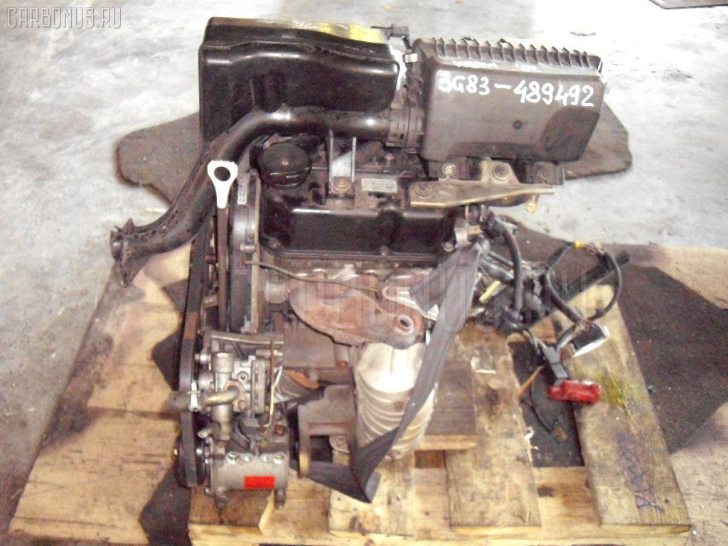 Двигатель MITSUBISHI EK WAGON H81W 3G83. Фото 8