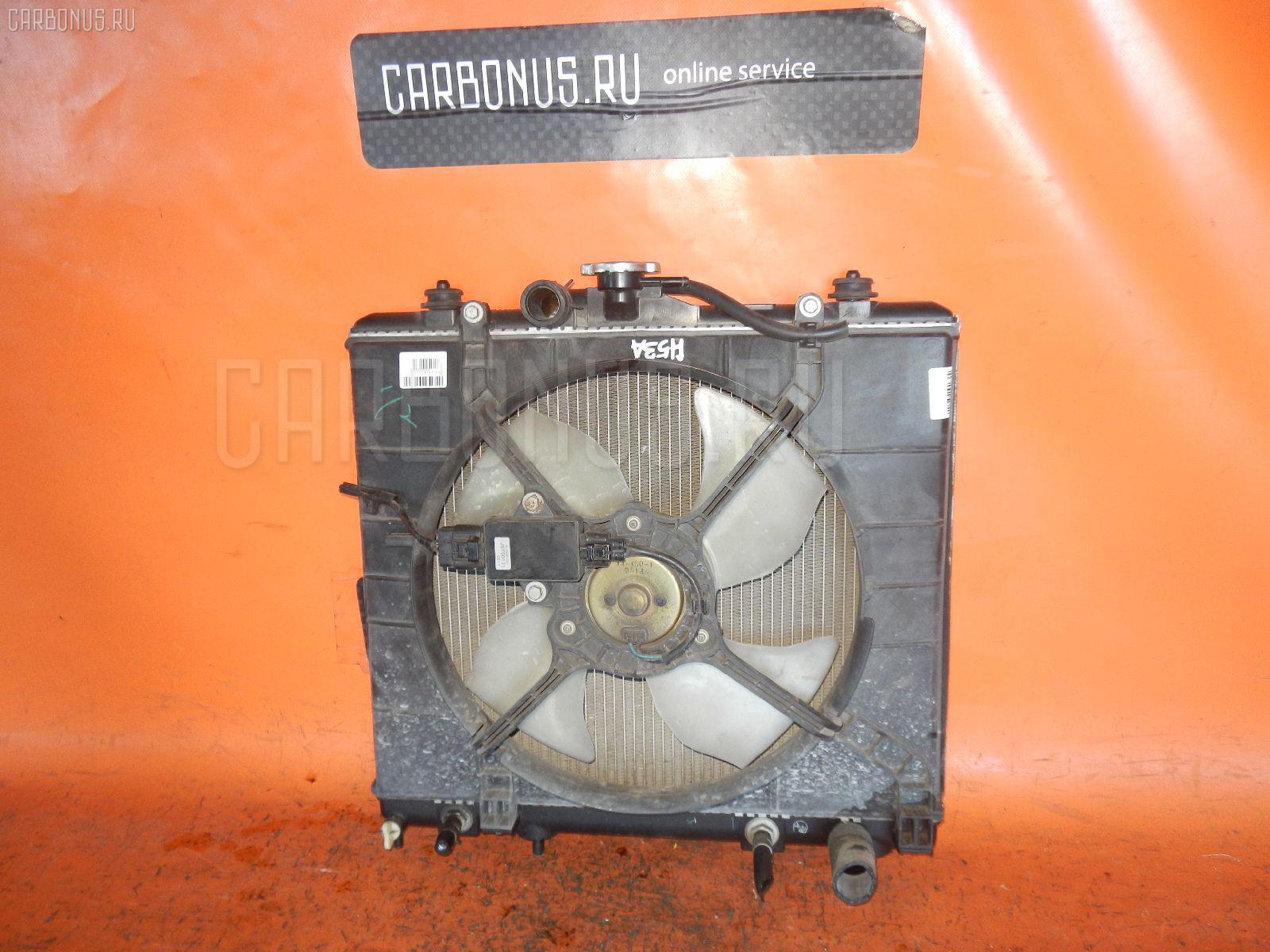 Радиатор ДВС MITSUBISHI PAJERO MINI H53A 4A30. Фото 6