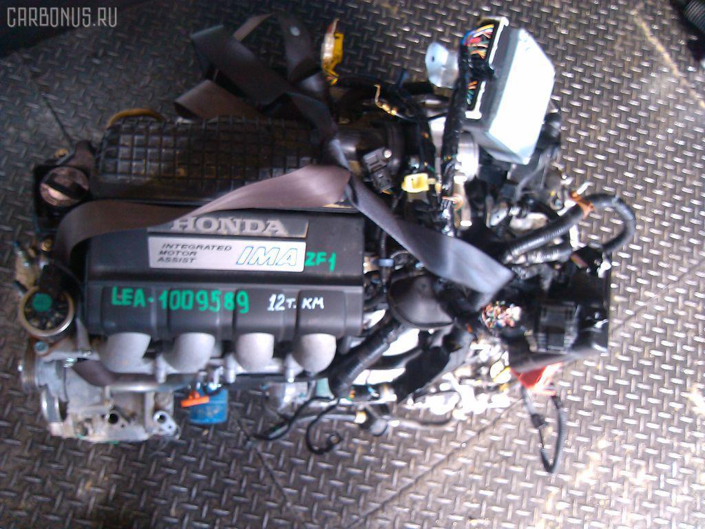 Двигатель HONDA CR-Z ZF1 LEA Фото 10