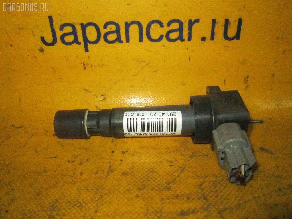 Катушка зажигания SUZUKI WAGON R MC22S K6A. Фото 10